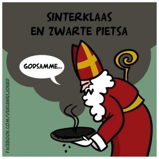 Sinterklaas en zwarte pietsa