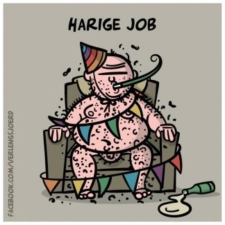 Harige Job