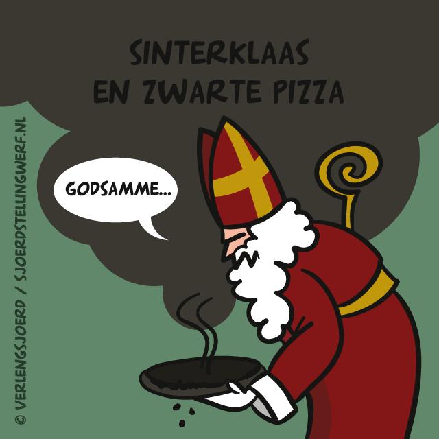 Zwarte Pizza