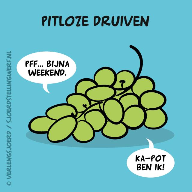 Pitloze druiven