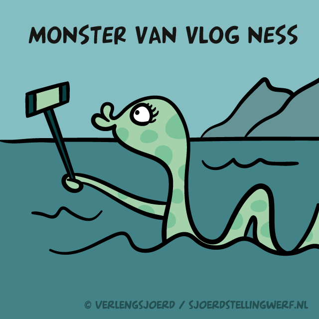 Monster van vlog ness